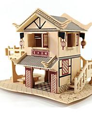 abordables -Puzzles 3D / Kit de Maquette / Maquettes de Bois Bâtiment Célèbre / Maison A Faire Soi-Même En bois Classique Unisexe Cadeau