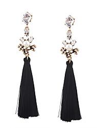 Women's Drop Earrings Jewelry Tassel Fashion Bohemian Personalized Euramerican Costume Jewelry Cotton Alloy Irregular Jewelry For Wedding