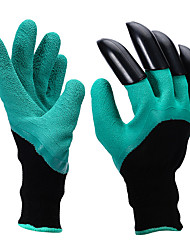 Rubber Garden Gloves  ABS Plastic Garden Genie Gloves With Claws High Quality Garden Gloves with Plastic Claws