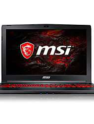 Msi gaming laptop 15,6 Zoll intel i5-7300hq 8gb ddr4 1tb hdd 128gb ssd windows10 gtx1050ti 4gb gl62m 7rex-1481cn