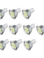 cheap -3.5 GU10 LED Spotlight MR16 16 leds SMD 5630 Warm White White 360-400lm 3000-3500/6000-6500K AC 220-240V