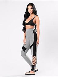 abordables -Mujer Pantalones ajustados de running Leggings de gimnasio Gimnasio, Correr & Yoga Secado rápido Deportes Medias/Mallas Largas Prendas de