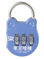 19B Password Unlocked Travel Bags Padlock Padlock Gymnasium Drawer Cabinet Lock  3 Digit Password Dail Lock  Password Lock