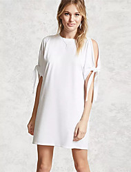 Women's Beach Holiday Going out Daily Vintage Simple Cute Loose Shift Dress