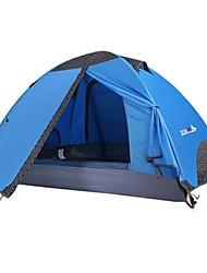 economico -BSwolf 2 persone Tenda Doppio strato Tenda da campeggio Esterno Ompermeabile, Anti-pioggia, Anti-polvere per Campeggio e hiking >3000 mm Terylene, Alluminio