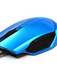 Lofree 112 6 chiavi 2000dpi usb mouse collegato con cavo 130cm
