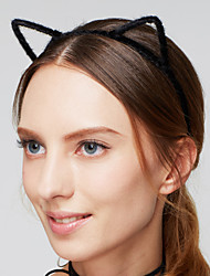 cheap -Women's Party Jewelry Vintage Acrylic Fabric Headband