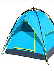 abordables -3-4 personnes Tente Double Tente de camping Tente automatique Garder au chaud Résistant à la poussière pour Camping / Randonnée Autre