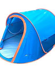 Недорогие -2 человека Тент для пляжа Световой тент Один экземляр Палатка Однокомнатная Всплывающая палатка Отдых и туризм Водонепроницаемость