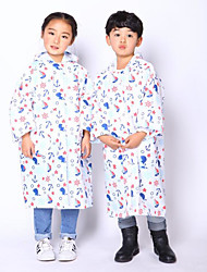 Motorcycles Children'S Piece Raincoats With A Package Of Creative Rainets Thick Rainproof Poncho