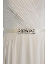 economico -camicie da giorno in raso / abiti da sera da donna con strass stile classico elegante