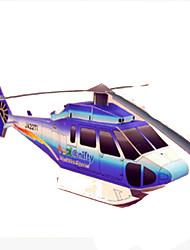Недорогие -3D пазлы Оригами Летательный аппарат Вертолет Своими руками Плотная бумага Мультяшная тематика Вертолет Детские Универсальные Игрушки Подарок