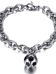 cheap -Men's Chain Bracelet Friendship Movie Jewelry Luxury Fashion Vintage Bohemian Punk Hip-Hop Rock Stretch Turkish Gothic Stainless Steel +