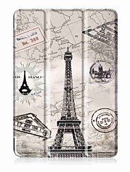 cheap -Painting Pattern Three fold PU Leather Case with Stand for Huawei Mediapad T3 10.0  9.6 inch Tablet PC