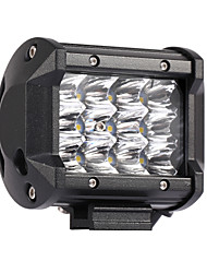 cheap -36W 3600LM 6000K 3-Rows LED Work Light Cool White Spot Offroad Driving Light for Car/Boat/Headlight IP68 9-32V DC
