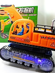 cheap -Toy Cars LED Lighting Music Toys Educational Toy Construction Vehicle Toys Musical Instruments Excavating Machinery Animal Electric