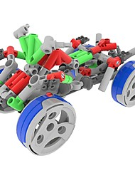 cheap -Display Model Building Blocks Educational Toy DIY Motorcycle Chariot Children's Gift