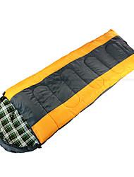 Недорогие -Спальный мешок на открытом воздухе Прямоугольный 5-15 °C Односпальный комплект (Ш 150 x Д 200 см) Пористый хлопок Водонепроницаемость Дышащий Сохраняет тепло Влагонепроницаемый Сгущать для
