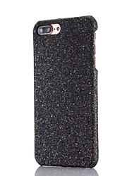 Taske til iphone 7 7 plus glitter pc beskyttelse bag cover til iPhone 6s 6splus 6 6plus