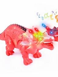 Недорогие -Фигурки животных Обучающая игрушка Игрушки Динозавр Животные Прогулки моделирование Электрический Пластик Мальчики Подростки 1 Куски