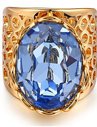 Dámské Široké prsteny Kubický zirkon Přizpůsobeno Luxus Klasické Základní Sexy láska Módní Cute Style Elegantní Napodobenina perel Zirkon