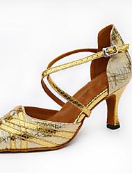 abordables -Femme Modernes Similicuir Sandale Basket Professionnel Talon Aiguille Or Noir Argent Personnalisables
