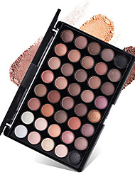 cheap -New 40 Colors Eyeshadow Palette Dry Matte Shimmer Mineral Eyeshadow Palette Daily Makeup Halloween Makeup Party Makeup Fairy Makeup Cateye Makeup