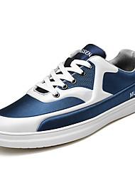 Недорогие -Муж. обувь Полиамидная ткань Зима Осень Туфли Мери-Джейн Удобная обувь Кеды Беговая обувь Шнуровка для Атлетический Повседневные на