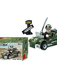 Blocs de Construction Petites Figurines à Construire Voitures de jouet Jouets Automatique Pièces Cadeau