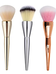 cheap -1pcs Makeup Brush Blush Brush Powder Brush Synthetic Hair Professional Metal Face Others