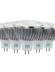 7W LED Spotlight MR16 48 SMD 2835 600-700 lm Warm White Cold White Natural White 2800-3200/4000-4500/6000-6500 K Decorative AC/DC 12 V