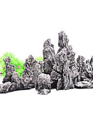 Недорогие -Оформление аквариума Камни Каучук