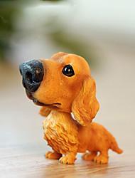 Pendentifs automobiles diy jolie petite poupée pendentif voiture chien&Résine ornements