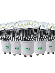 7W GU10 LED Spotlight 48 SMD 2835 600-700 lm Warm White Cold White Natural White 2800-3200/4000-4500/6000-6500 K Decorative AC85-265 V
