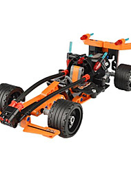 DIY KIT Building Blocks Educational Toy Pull Back Car/Inertia Car Pull Back Vehicles Toy Cars Race Car Toys Car Pieces Kid's Children's
