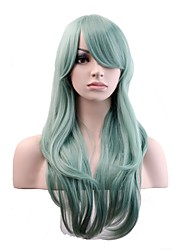 cheap -Synthetic Wig / Cosplay & Costume Wigs Natural Wave Synthetic Hair Wig Women's Long Capless