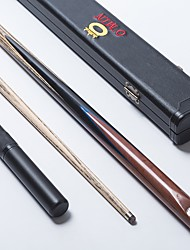 economico -Un pezzo Cue Tre quarti due pezzi Cue Cue Sticks & Accessori Snooker English Biliardo