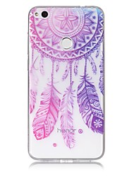 cheap -Case For Huawei P9 Lite Huawei Huawei P8 Lite Pattern Back Cover Dream Catcher Soft TPU for P10 Lite Huawei P9 Lite P8 Lite (2017) Huawei