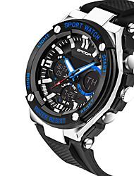 preiswerte -SANDA Herrn digital Armbanduhr Militäruhr Sportuhr Kalender Wasserdicht Nachts leuchtend Silikon Band Charme Luxus Kreativ Freizeit