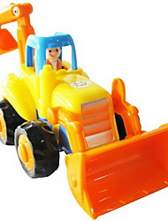 cheap -Toy Cars Wind-up Toy Pull Back Car/Inertia Car Construction Vehicle Excavator Toys Forklift Excavating Machinery Plastics Pieces Not