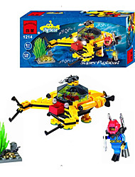 Building Blocks Toys Ship Pieces Gift
