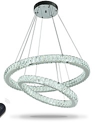 cheap -LED Indoor Crystal Chandeliers Pendant Light Ceiling Lights Dimmable Lighting with Remote Control