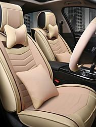 Le nouveau siège en cuir en cuir assise coussin siège siège quatre saisons général entouré d'un dossier de repose-tête de cinq places pour