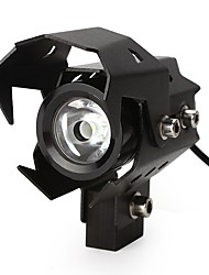 U8 LED Motorbike Spotlights Motorcycle Headlight High Low Flash Beam Head Light Lamp Waterproof