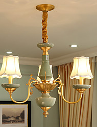 All Copper Chandelier Jade DecorativeLiving Room Chandelier OP0