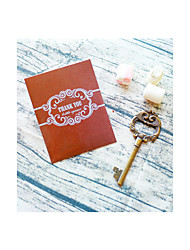 cheap -Key to My Heart Bottle Opener in Thank You Gift Bag\ Wedding Favors