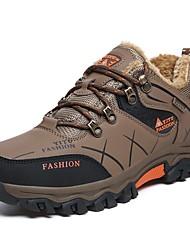 abordables -Homme Chaussures Similicuir Automne Confort Chaussures d'Athlétisme Pour Décontracté Gris Vert Kaki