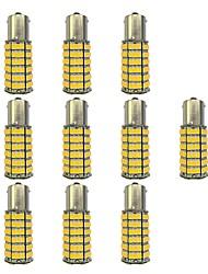 abordables -10pcs 1156 Automatique Ampoules électriques 4W SMD 3528 385lm Ampoules LED Clignotants