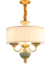 All Copper Chandelier Jade DecorativeLiving Room Chandelier OP01