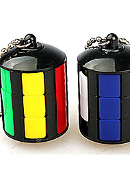 cheap -Rubik's Cube Smooth Speed Cube Stress Relievers Magic Cube Key Chain Plastics ABS Round Gift